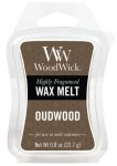Wosk klepsydra WoodWick - Oudwood