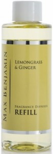 Olejek do dyfuzorów Max Benjamin - Lemongrass & Ginger - 150ml