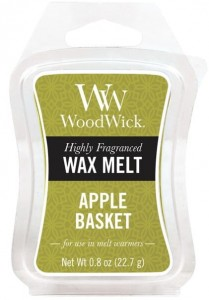 Wosk klepsydra WoodWick - Apple Basket