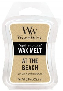 Wosk klepsydra WoodWick - At The Beach