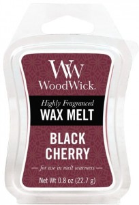 Wosk klepsydra WoodWick - Black Cherry