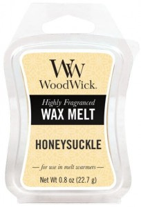 Wosk klepsydra WoodWick - Honeysuckle