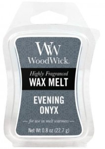 Wosk klepsydra WoodWick - Evening Onyx