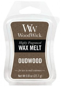 Wosk klepsydra WoodWick Wax Melt - Oudwood