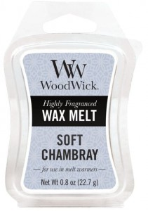 Wosk klepsydra WoodWick Wax Melt - Soft Chambray