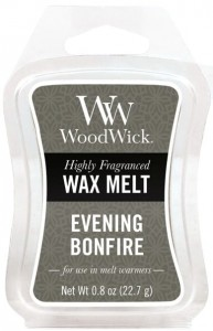 Wosk klepsydra WoodWick Wax Melt - Evening Bonfire