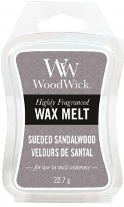 Wosk klepsydra WoodWick Wax Melt - Sueded Sandalwood