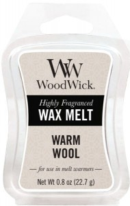 Wosk klepsydra WoodWick Wax Melt - Warm Wool