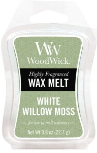 Wosk klepsydra WoodWick Wax Melt - White Willow Moss