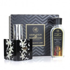 Midnight Collection Exclusive - Silver Jasmine - Zestaw Lampa Zapachowa z olejkiem Moroccan Spice 250ml